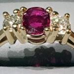 Ruby _ Diamond Ring